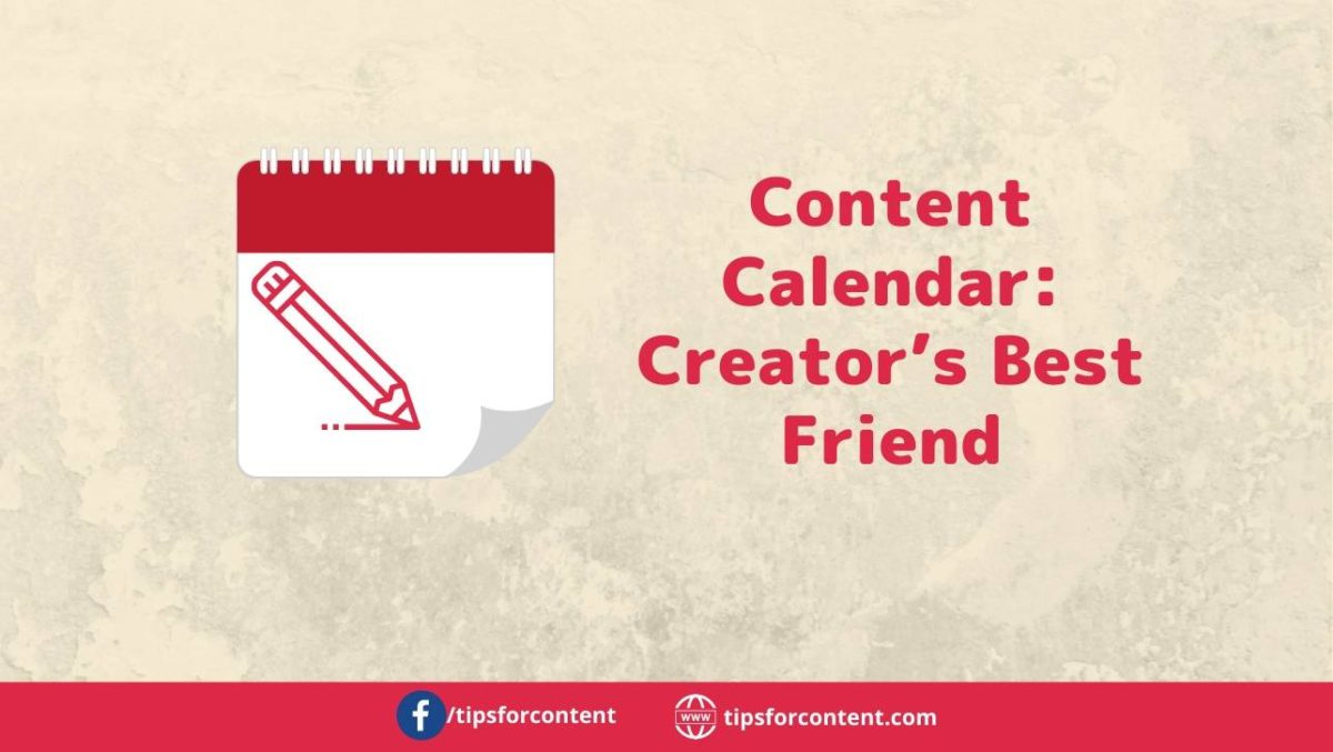 Content Calendar: Creator's Best Friend