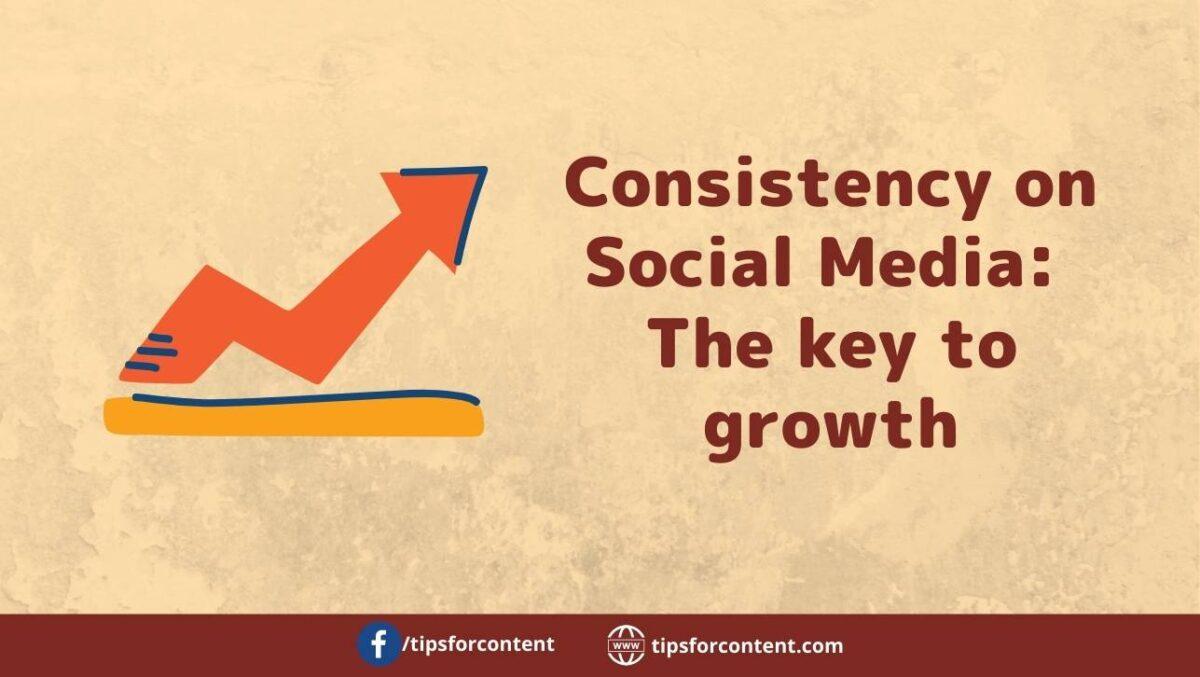 Consistency on Social Media