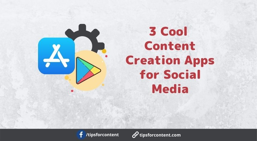 Cool Content Creation Apps